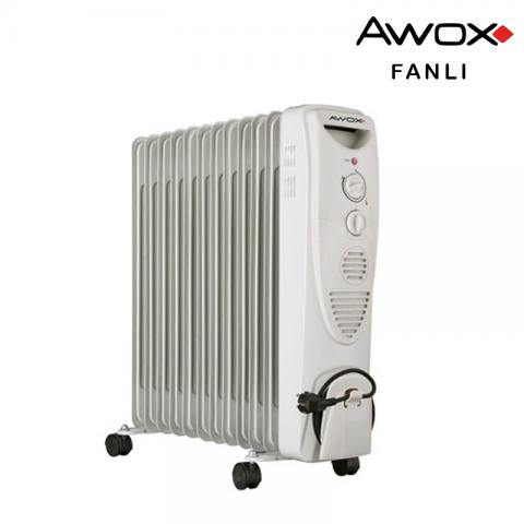 Avox 12 Dilim Yağlı Fanlı Radyatör