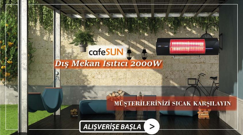 CafeSUN Dış Mekan Isıtıcı Aydın Aydın